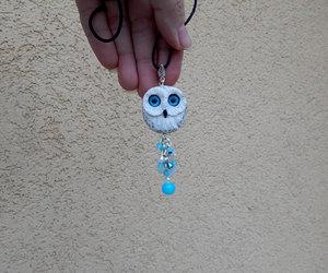 birds, blue eyes, and owl image
