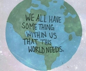 quote, world, and earth image