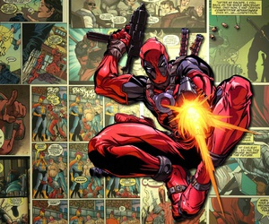 deadpool, Marvel, and x-men image