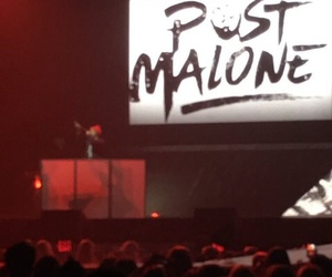 dj, performs, and post malone image