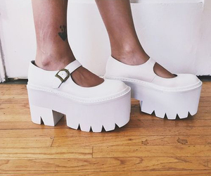 fashion, jeffrey campbell, and mary janes image
