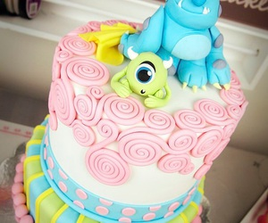 cake, disney, and cute image