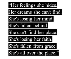 quotes, Avril Lavigne, and nobody's home image