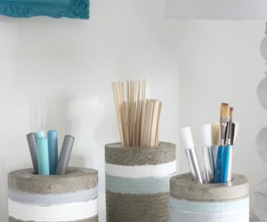 home decor, diy ideas, and diy concrete projects image
