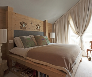 bed, dream home, and ideas image