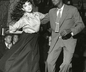 dance, vintage, and black and white image