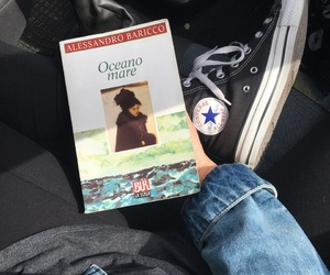 books, converse, and reading image