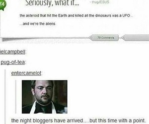 funny, tumblr, and alien image