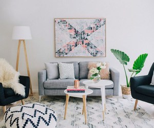 design, ideas, and livingroom image