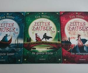 three books, eva voller, and zeitenzauber image