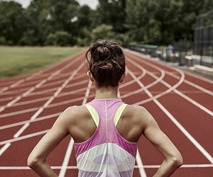 fitness, running, and fit image