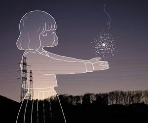 stars, art, and anime image