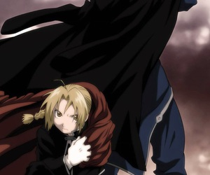 edward, elric, and roy image
