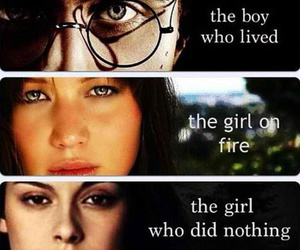 books, crepusculo, and harry potter image