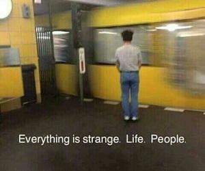 life, yellow, and grunge image