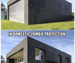 house, zombie, and awesome image