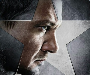 hawkeye, Marvel, and civil war image