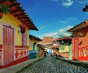 cities, colombia, and pueblo image