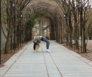 green, gymnastic, and nature image