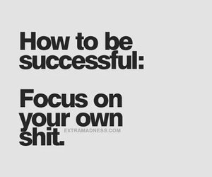 quotes, focus, and success image