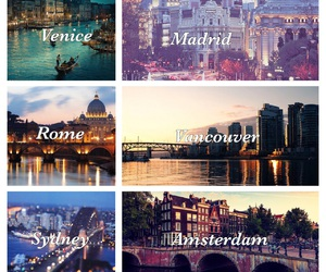 madrid, rome, and amsterdam image