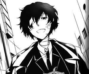 anime, osamu dazai, and manga image