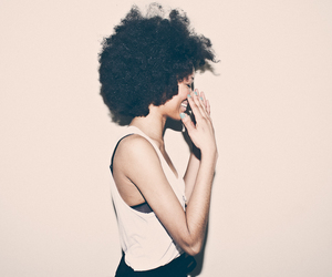 Afro and natural hair image
