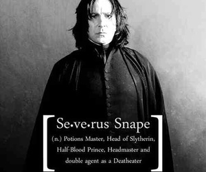 harry potter, severus snape, and hogwarts image