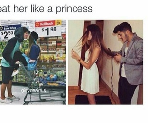 princess, love, and couple image