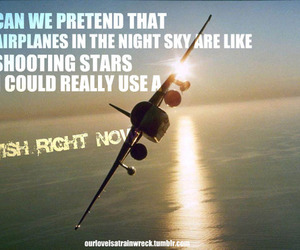 airplanes, qoute, and dreams image