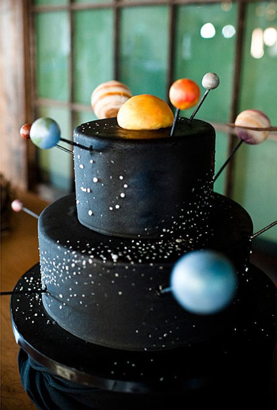 Awesome Outer Space Party Ideas 100 Layer Cakelet Space Birthday Cake Funny Birthday Cards Online Sheoxdamsfinfo