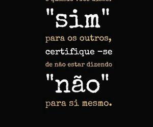 frase, português, and nao image