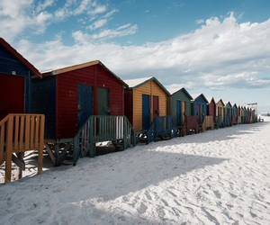 cape town, beach, and beautiful image