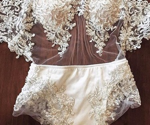 lace, lingerie, and style image