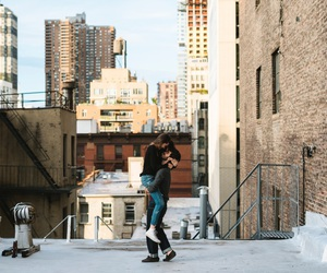 Brooklyn, concrete jungle, and couple image