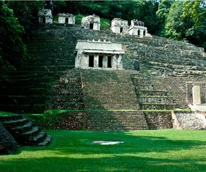 archeology, chiapas, and nature image