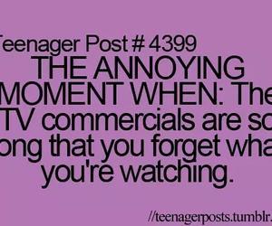 teenager post, tv, and commercials image