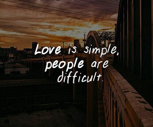 quote, love, and people image