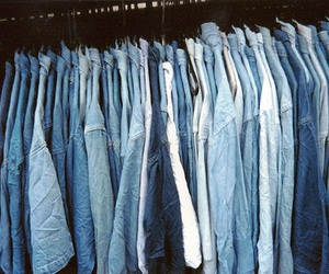 blue, jeans, and clothes image
