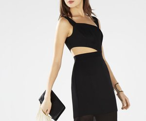 bcbg evening dress, 2016 bcbg dress, and bcbg roxana cutout dress image