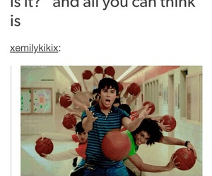 funny and high school musical image