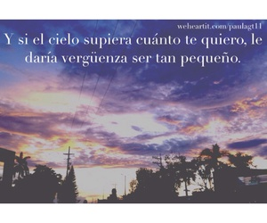 amor, cielo, and frases image