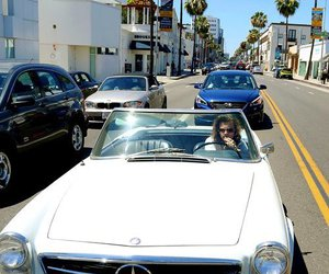 Harry Styles, one direction, and car image