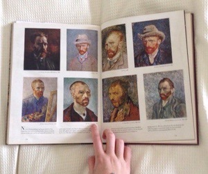 art, book, and van gogh image