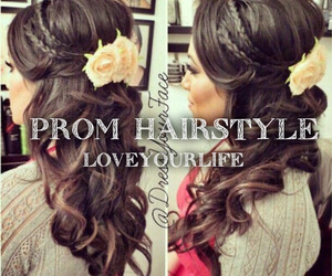 Prom and prom hairstyles image