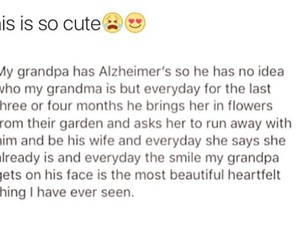 alzheimer, cry, and grandparents image