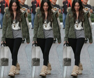 megan fox and casual style image