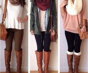 fall, summer, and fashion image