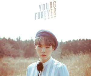 young forever, suga, and bts image