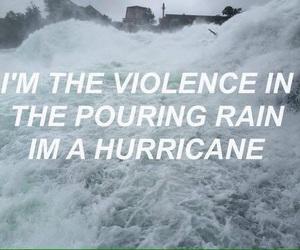 hurricane, halsey, and Lyrics image